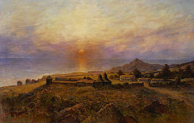 1880s Painting - Fort Ross by Henry Raschen
