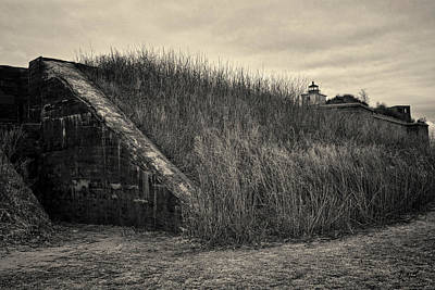Civil War Battle Site Photograph - Fort Taber No. 1 by David Gordon