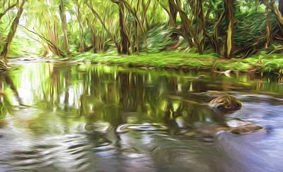 Art In Nature Digital Art - Forward Motion II by Jon Glaser