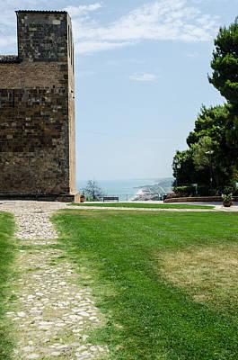 Sea Photograph - Fossacessia - Abbey Of San Giovanni In Venere 3 by Andrea Mazzocchetti