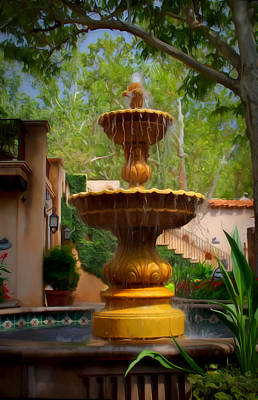 Digital Art - Fountain by Dan Stone