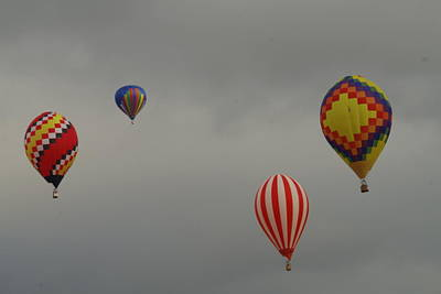 Hand Crafted Photograph - Four In The Sky by Jeff Swan