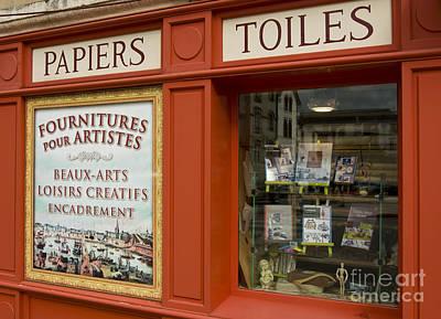 Fourniture Des Artisites    Art Supplies Original by Mark Hendrickson