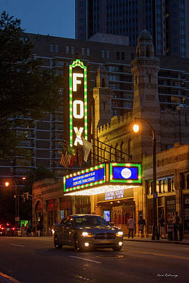Fox Theater Too Atlanta Fabulous Fox Art  Print by Reid Callaway