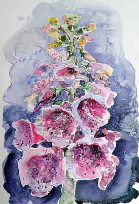 Foxglove Print by Kovacs Anna Brigitta
