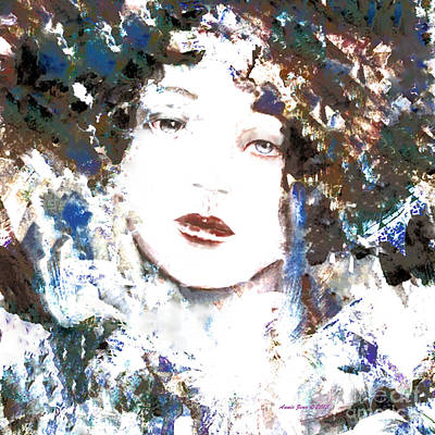 Painting - Beautiful Woman  by Annie Zeno