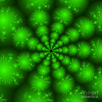 Fractal 115 Print by Brian Flannery