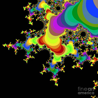 Fractal 32 Print by Brian Flannery