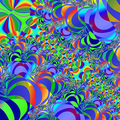 Fractal 67 Print by Brian Flannery