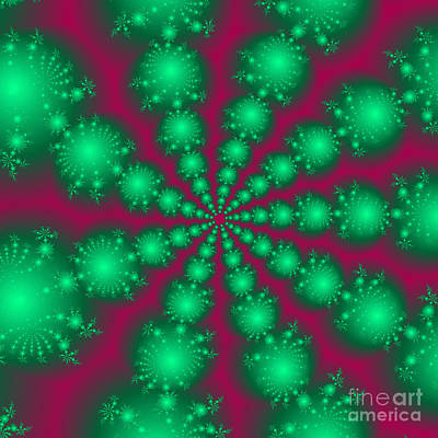 Fractal 81 Print by Brian Flannery