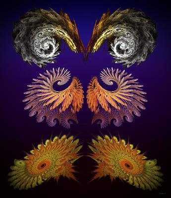 Doppelganger Digital Art - Fractal Festivus by Brian Wallace