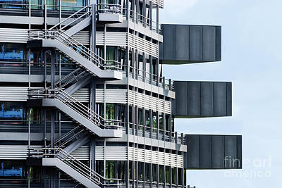 Abstract Photograph - Fragment Of A Modern Building, Ham by Dani Prints and Images