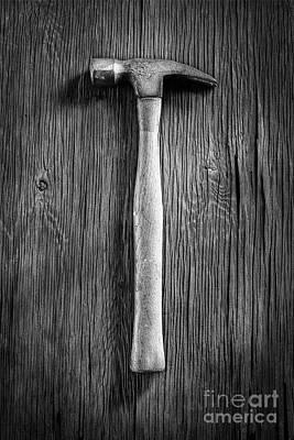 Hammer Photograph - Framing Hammer L by YoPedro