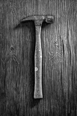 Tooled Photograph - Framing Hammer by YoPedro