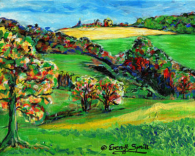 Francais Campagne Print by Everett Spruill