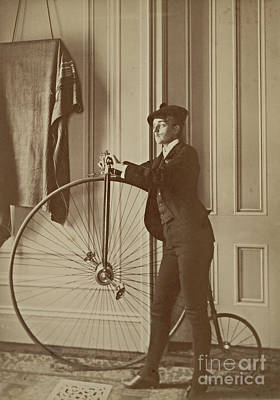 Self-portrait Photograph - Frances Benjamin Johnston, American by Science Source