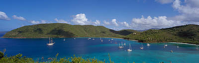 Francis And Maho Bays Virgin Islands Print by Panoramic Images