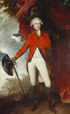 18th Century Painting - Francis Rawdon-hastings  by Joshua Reynolds