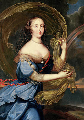 Francoise-athenais De Rochechouart De Mortemart Print by Louis Ferdinand Elle