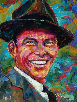 Frank Sinatra Print by Debra Hurd
