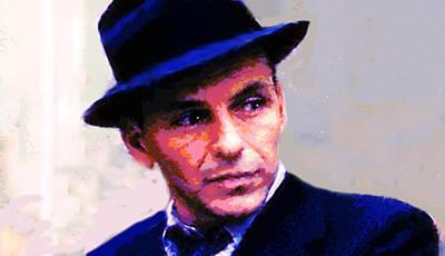 Frank Sinatra  Original by Enki Art