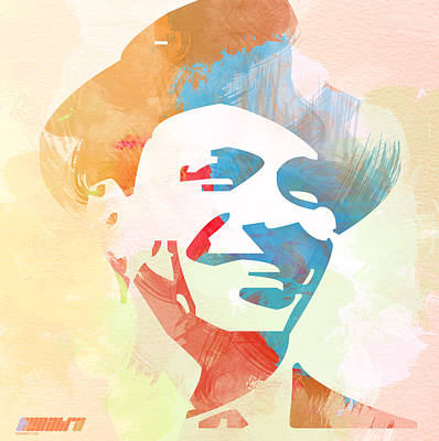 Jazz Digital Art - Frank Sinatra by Naxart Studio
