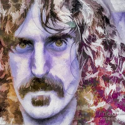 Photograph - Frank Zappa by Eleni Mac Synodinos