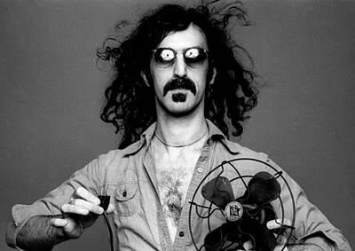 Frank Zappa Print by Hans Wolfgang Muller Leg