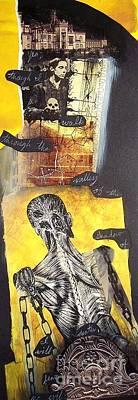 Frankenstein Print by Xoey HAWK