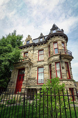 Haunted House Photograph - Franklin Castle by Michael Demagall