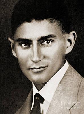 Lapel Photograph - Franz Kafka by Czech School
