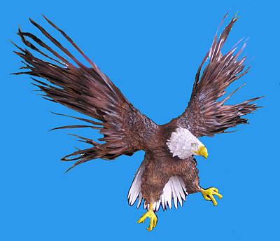 Palmfish Sculpture - Free Bird by Dan Townsend