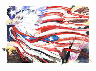 Freedom Print by Anthony Burks Sr