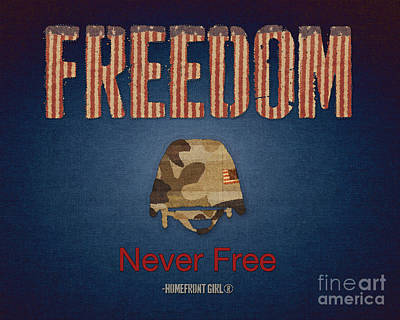 Freedom Print by Gaby Juergens