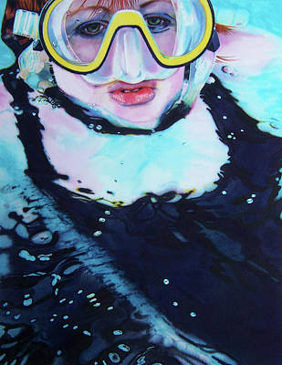 Goggles Painting - Freestyler by Denny Bond