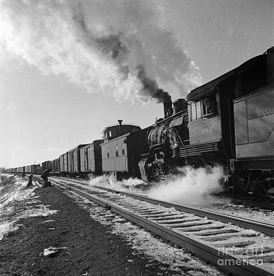 Freight Train, 1943 Print by Granger