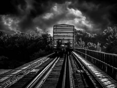 Decor Photograph - Freight Train Blues by Bob Orsillo