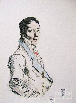 French Aristocrat Original by Roberto Prusso
