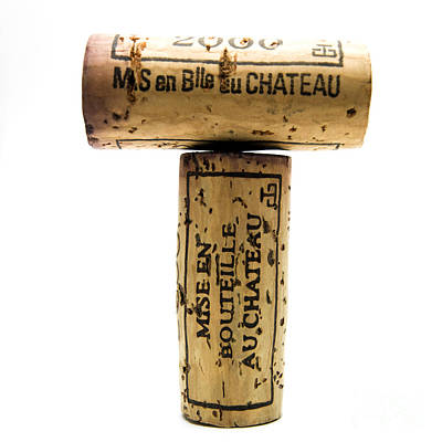 Abundance Photograph - French Corks by Bernard Jaubert