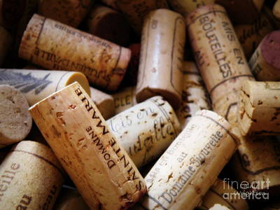 French Corks Print by Lainie Wrightson