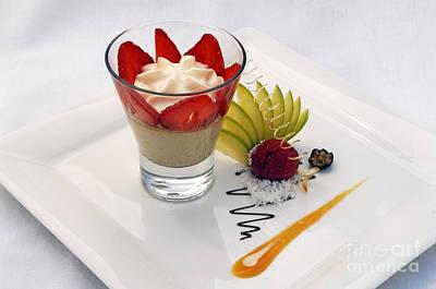 French Dessert Print by Helmut Meyer zur Capellen