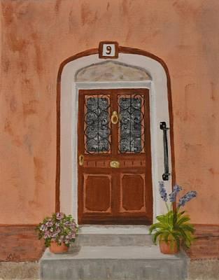 French Door Number Nine  Print by Nancy Otey