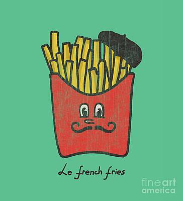 French Fries Print by Nava Seas