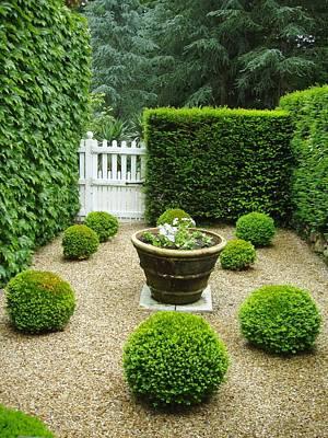 French Garden V Print by Wendy Uvino