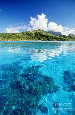 French Polynesia, View Print by Joe Carini - Printscapes