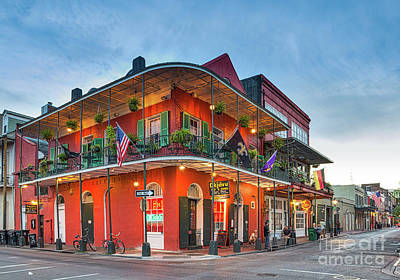 French Quarter Architecture Print by Tod and Cynthia Grubbs