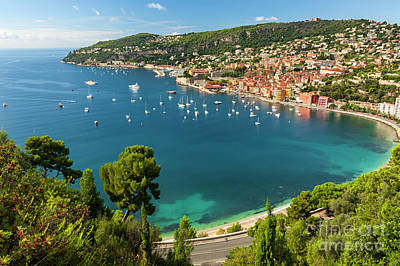 Yacht Photograph - French Riviera by Elena Elisseeva