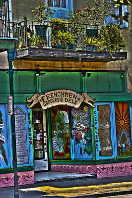 St Charles Avenue Photograph - Frenchman Deli by Shelley Bain