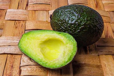Fresh Avocado Print by Garry Gay