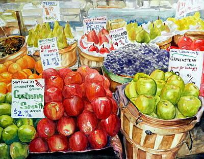 Fresh Fruit Original by Bruce Black